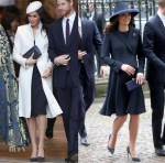 Meghan Markle & Catherine, Duchess of Cambridge attend the Commonwealth Day Services