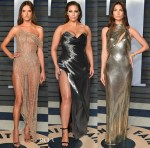 Models @ The Vanity Fair Oscar Party