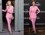 Emily VanCamp In Dolce & Gabbana - 'The Resident' London Screening