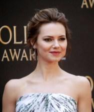 Kara Tointon In Blumarine - The Olivier Awards