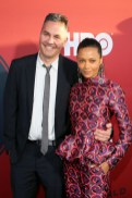 Ol Parker and Thandie Newton attend the premiere of HBO's 'Westworld' Season 2