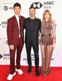 Suki Waterhouse In Christian Dior and Ansel Elgort In Alexander McQueen