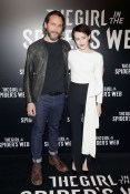 Director Fede Álvarez and Claire Foy attend the CinemaCon 2018 Gala Opening Night Event: Sony Pictures Highlights its 2018 Summer and Beyond Films