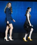 Blake Lively In Sonia Rykiel and Anna Kendrick In Balmain