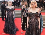 Imogen Poots In Valentino - The Olivier Awards