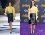 Jennifer Connelly In Louis Vuitton - 'Avengers: Infinity War' LA Premiere