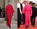 Alba Rohrwacher In Valentino Haute Couture - 'Happy As Lazzaro (Lazzaro Felice)'  Cannes Film Festival Premiere