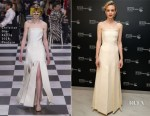Carey Mulligan In Christian Dior Couture - 'Wildlife' Cannes Film Festival Screening