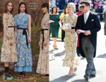 Carey Mulligan In Erdem - Prince Harry & Meghan Markle's Royal Wedding