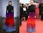 Cate Blanchett In Givenchy Haute Couture - 'Blackkklansman' Cannes Film Festival Premiere