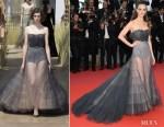 Charlotte Le Bon In Christian Dior Haute Couture - 'Blackkklansman' Cannes Film Festival Premiere