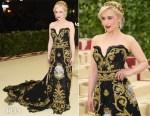 Emilia Clarke In Dolce & Gabbana Alta Moda - 2018 Met Gala