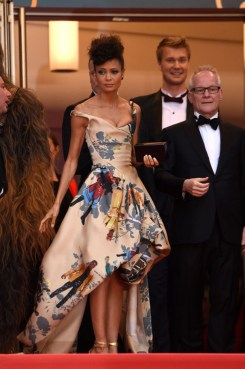 Thandie Newton In Vivienne Westwood Couture for The Green Carpet Challenge