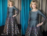 Jane Fonda In Mary Katrantzou - L'Oreal Cannes Event
