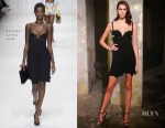 Kaia Gerber In Versace -  OMEGA Tresor Event