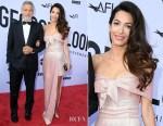 Amal Clooney In Prada - American Film Institute's 46th Life Achievement Award Gala Tribute to George Clooney