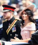 Meghan, Duchess of Sussex In Carolina Herrera - Trooping The Colour