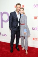 Zoey Deutch and Glen Powell attend a special screening of the Netflix film 'Set It Up'