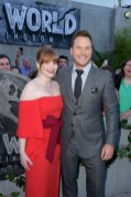 """Bryce Dallas Howard and Chris Pratt attend the premiere of Universal Pictures and Amblin Entertainment's """"Jurassic World: Fallen Kingdom"""""""