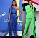 Issa Rae In Pyer Moss & Sergio Hudson - 2018 CFDA Fashion Awards