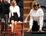 Lea Seydoux In Louis Vuitton - Roland Garros