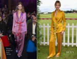 Martha Hunt In Peter Pilotto - Cartier Queen's Cup Polo