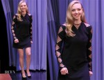 Amanda Seyfried In Givenchy - The Tonight Show Starring Jimmy Fallon