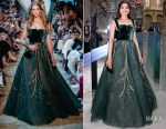 Freida Pinto In Elie Saab Haute Couture - Cartier's 'Coloratura' High Jewellery Collection Launch