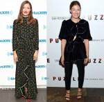 Kelly Macdonald In RIXO London & Marianna Senchina -   SiriusXM & 'Puzzle' New York Screening