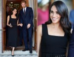 Meghan, Duchess of Sussex In Emilia Wickstead – Glencairn House Summer Party