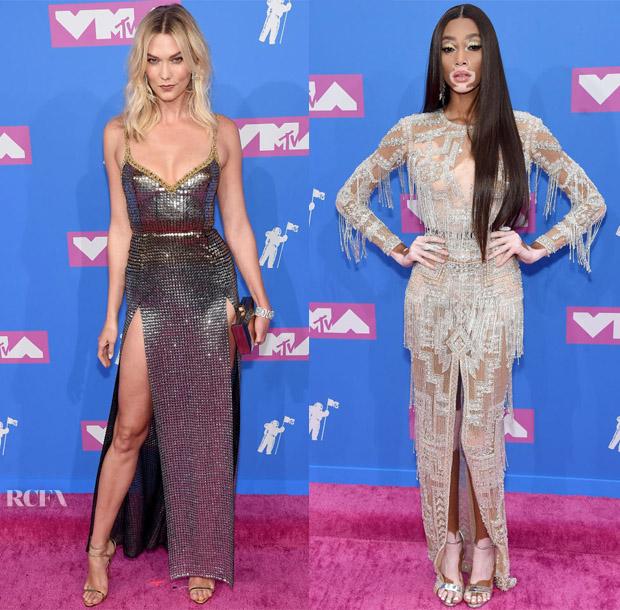 2018 MTV VMAs Models Roundup