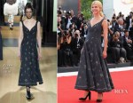 Clemence Poesy In Erdem - 'First Man' Venice Film Festival Premiere & Opening Ceremony