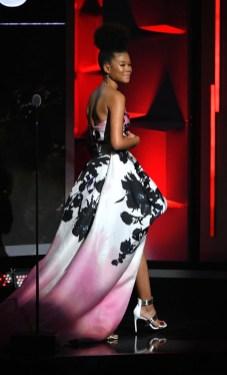 Storm Reid In Monique Lhuillier - 2018 Black Girls Rock! Awards