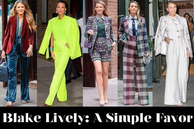 Which Was Your Favourite Blake Lively 'A Simple Favor' Promo Tour Look