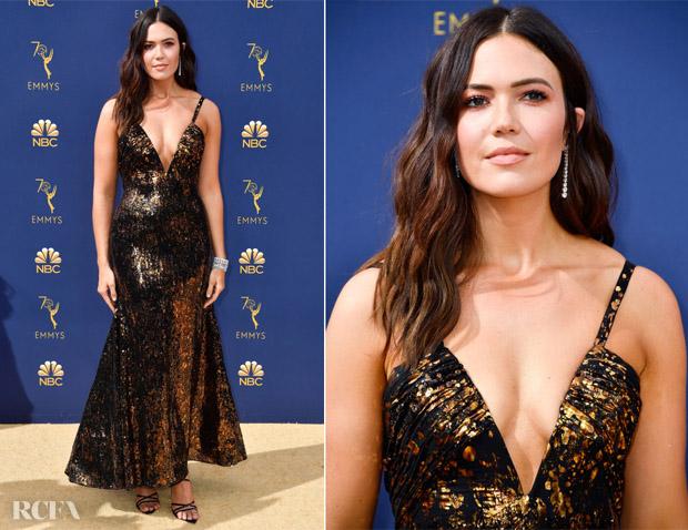 Mandy Moore In Rodarte - 2018 Emmy Awards