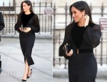 Meghan, Duchess of Sussex In Givenchy - 'Oceania' Opening
