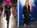 Melissa George In Schiaparelli Haute Couture - Hulu's 'The First' Los Angeles Premiere