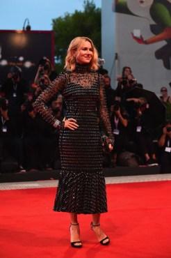 Naomi Watts In Dolce & Gabbana - 'At Eternity's Gate' Venice Film Festival Premiere