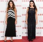 Penelope Cruz In Chanel 'Todos Lo Saben' Madrid Photocall & Premiere
