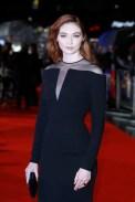 Eleanor Tomlinson In Tom Ford - 'Colette' London Film Festival Premiere