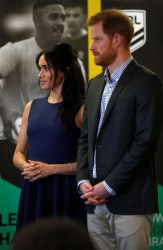 Prince Harry, Duke of Sussex and Meghan, Duchess of Sussex visit Macarthur Girls High School