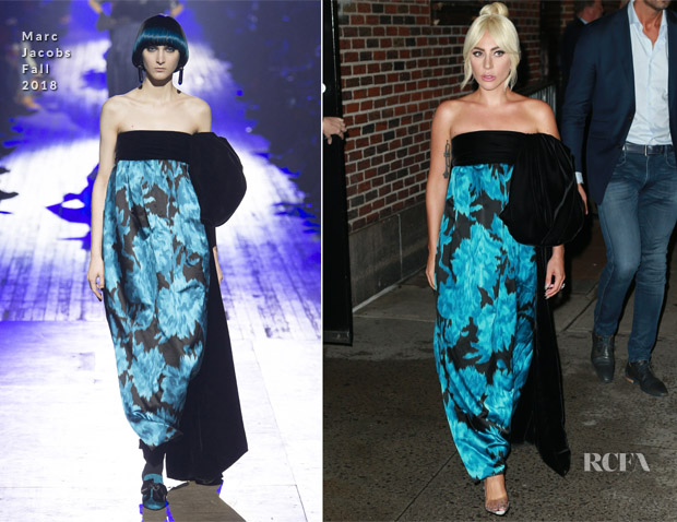 Lady Gaga In Marc Jacobs - The Late Show with Stephen Colbert