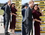 Meghan, Duchess of Sussex In Hugo Boss - Sydney Departure