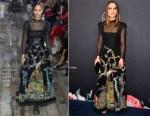 Natalie Portman In Christian Dior - Variety's Power Of Women Los Angeles