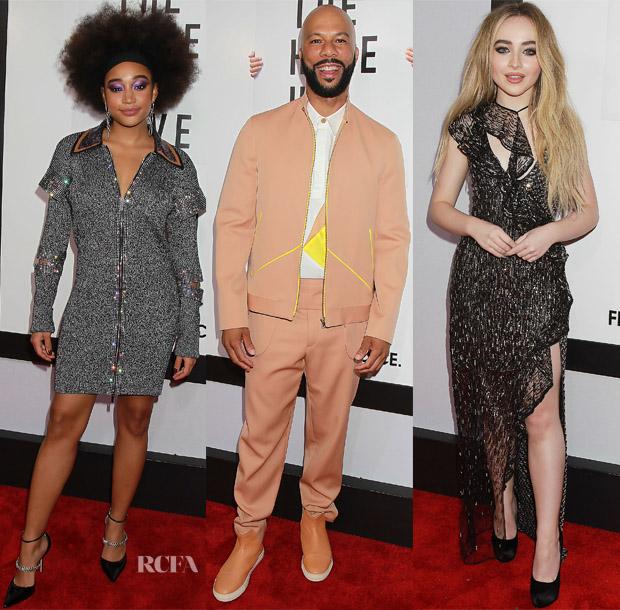 'The Hate U Give' New York Screening