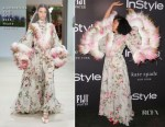 Tracee Ellis Ross In Giambattista Valli Haute Couture - 2018 InStyle Awards