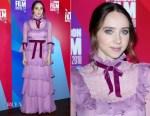 Zoe Kazan In Honor - 'Wildlife' London Film Festival Premiere