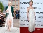 Amber Heard In Oscar de la Renta - 2018 Glamour Women of the Year Awards