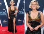 Bebe Rexha In Coach - 2018 CMA Awards