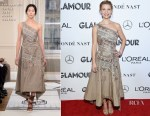 Claire Danes In Schiaparelli Haute Couture - 2018 Glamour Women of the Year Awards